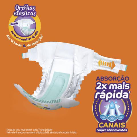 Imagem de Fralda Descartável Pom Pom Protek Proteção De Mãe Mega G 40 Tiras