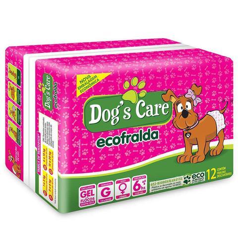 Imagem de Fralda Dogs Care Ecofralda Cães Fêmeas 12 unidades - Tamanho G