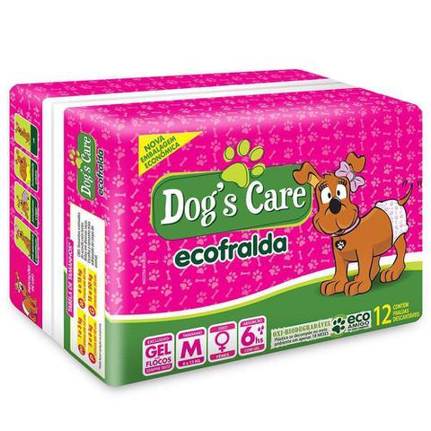 Imagem de Fralda Dogs Care Ecofralda Cães Fêmeas 12 unidades - Tamanho M