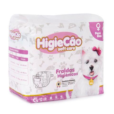 Imagem de Fralda Higiênica Cães Fêmea Higiecão