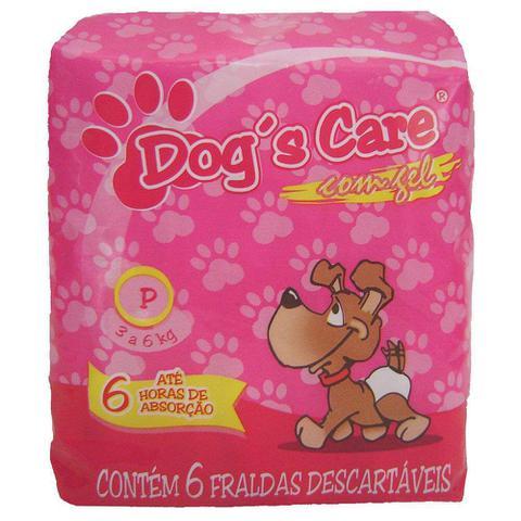Imagem de Fralda Higiênica Dogs Care Cães Fêmeas - 6 Unidades - Tamanho P