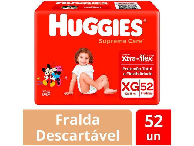 Imagem de Fralda Huggies Supreme Care - Tam. XG 12 a 15kg 52 Unidades