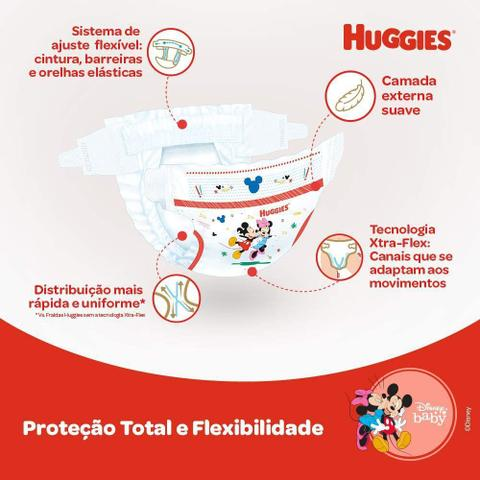 Imagem de Fralda Huggies Supreme Care Turma da Mônica XXG 104 Unidades