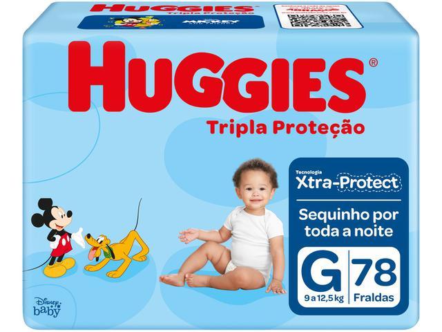 Imagem de Fralda Huggies Tripla Proteção Tam. G