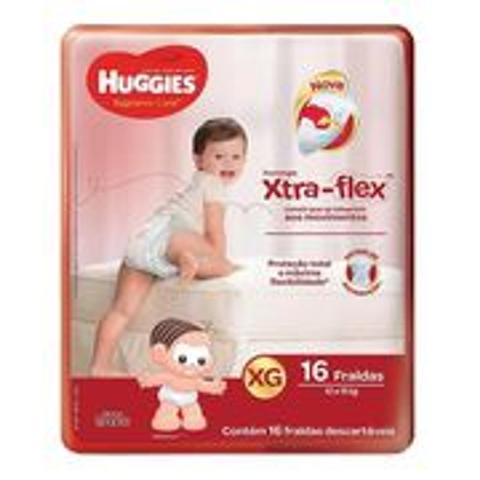 Imagem de Fralda Infantil Huggies Turma da Mônica Supreme Care XG C/16