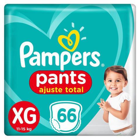 Imagem de Fralda Pampers Pants Ajuste Total Top Tamanho XG 66 Unidades