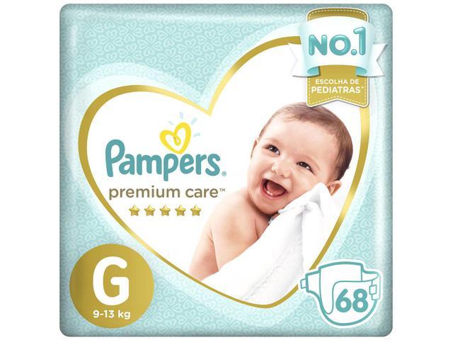 Imagem de Fralda Pampers Premium Care G 2 Pacotes