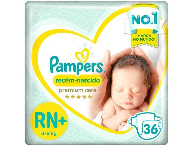 Imagem de Fralda Pampers Premium Care RN+