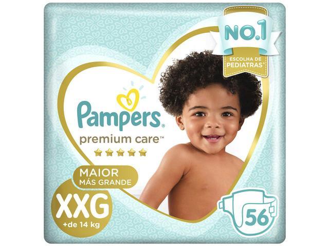 Imagem de Fralda Pampers Premium Care XXG 2 Pacotes