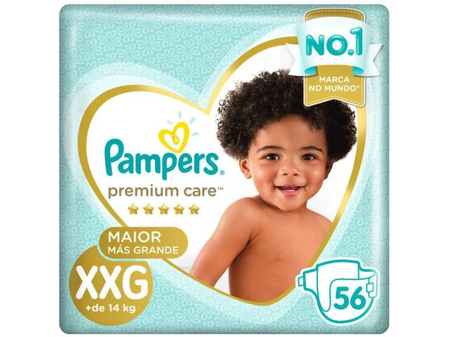 Imagem de Fralda Pampers Premium Care XXG + de 14kg