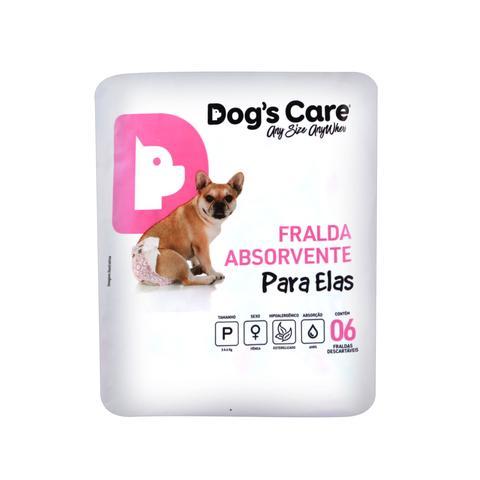 Imagem de Fralda para femeas tam p - pacote com 6 unidades