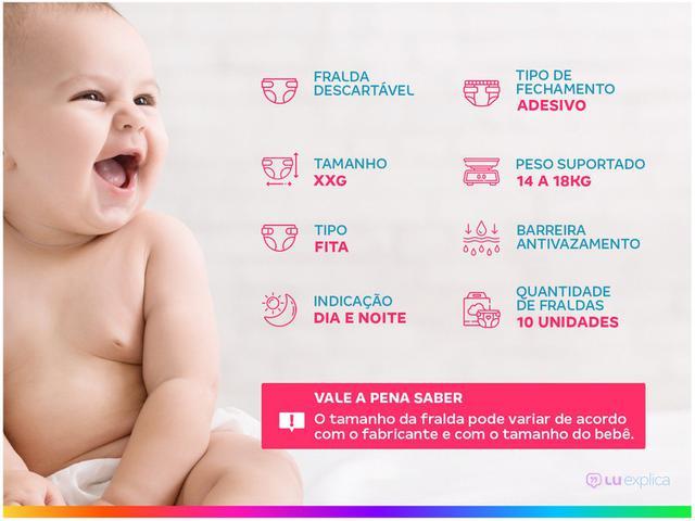 Imagem de Fralda Pom Pom Protek Proteção de Mãe Jumbinho