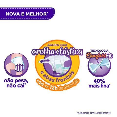 Imagem de Fralda Pom Pom Protek Proteção de Mãe Tamanho M Pacote Jumbo 30 Fraldas Descartáveis