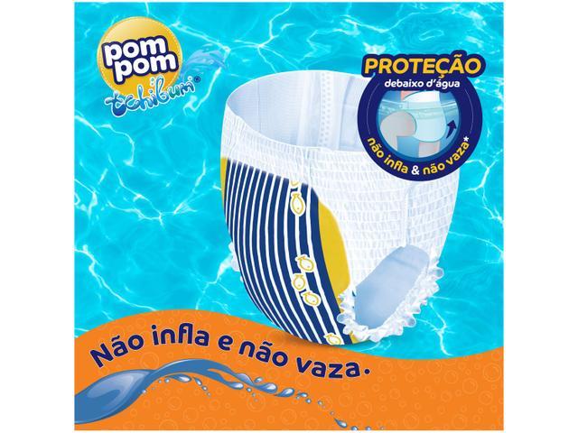 Imagem de Fralda Pom Pom Tchibum Calça Tam. G