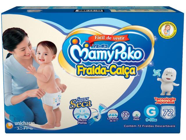 Imagem de Fraldas Calça MamyPoko Tam. G 72 Unidades