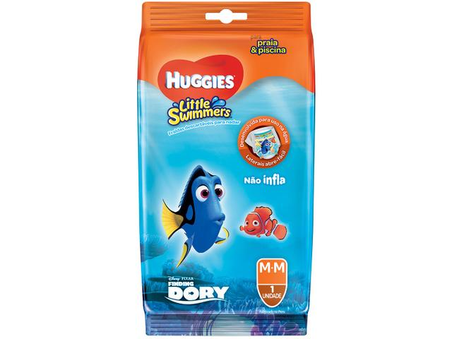 Imagem de Fraldas Huggies Disney Little Swimmers Tam. M
