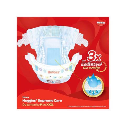 Imagem de Fraldas Huggies Hiper Supreme Care 312 Unidades 104 XG e 208 XXG