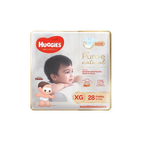 Imagem de Fraldas Huggies Natural Care XG 112 Unidades