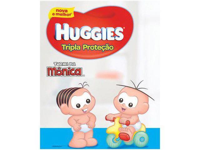Imagem de Fraldas Huggies Turma da Mônica Tripla Proteção