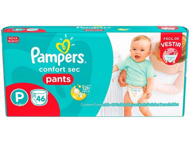 Imagem de Fraldas Pampers Pants Confort Sec Tam. P