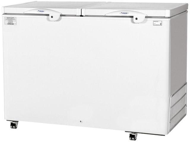 Freezer Fricon 411 Litros Branco 2 Portas - 110v - Hced-411