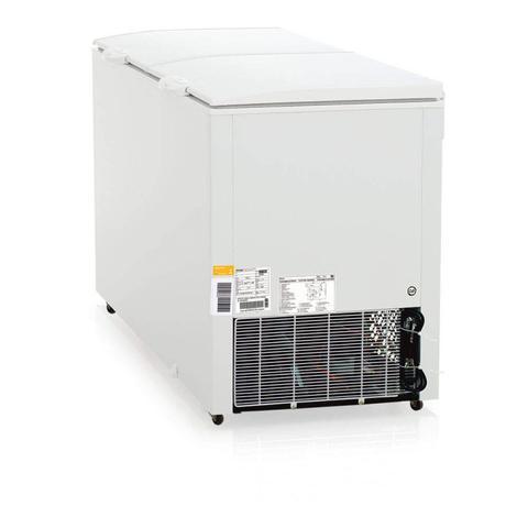 Imagem de Freezer Horizontal Skin Condenser 310L Profissional Gelopar 127V Branco