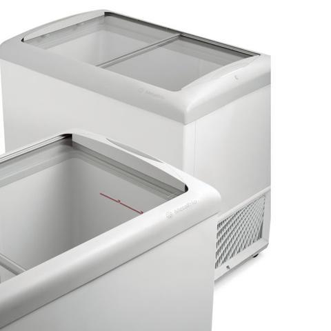 Imagem de Freezer horizontal tampa de vidro 389l hf40s - metalfrio