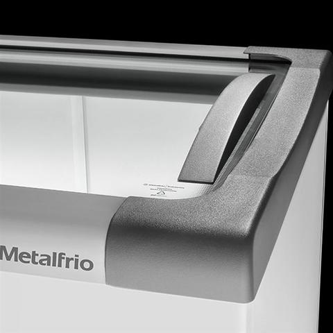 Imagem de Freezer Horizontal Tampa de Vidro 491l NF55 - Metalfrio
