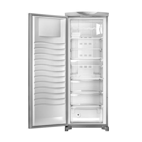 Imagem de Freezer Vertical Brastemp Flex Frost Free 228 Litros Inox 110v BVR28MKANA