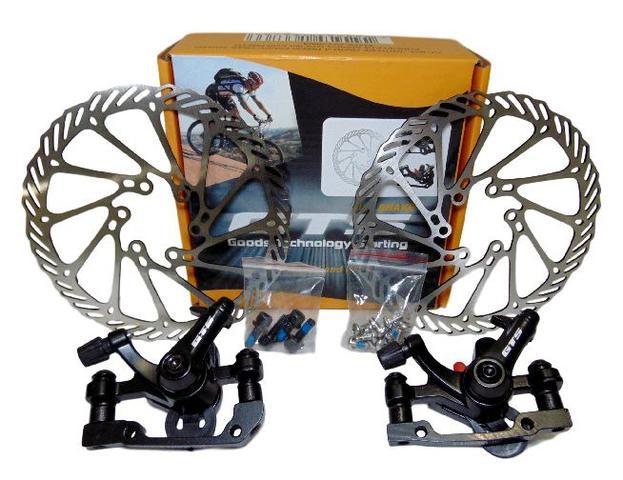 Imagem de Freio a disco mecânico para bicicletas
