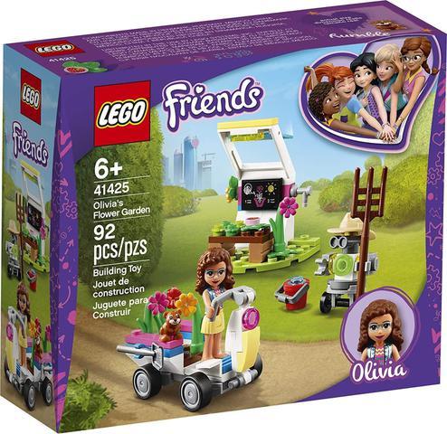 Imagem de Friends O Jardim de Flores da Olívia Lego