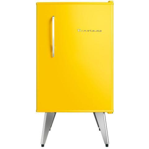 Imagem de Frigobar Brastemp Retrô 76 litros Amarelo