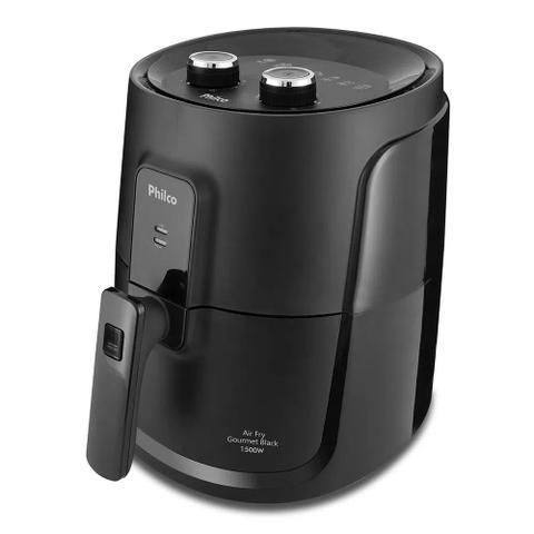 Imagem de Fritadeira Air Fry Gourmet Black 4 Litros 1500W 220 Volts - Philco
