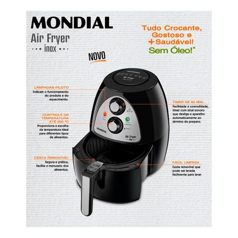 Imagem de Fritadeira Air Fryer Af03 Mondial