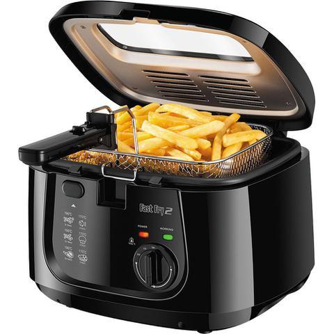 Imagem de Fritadeira Elétrica 2.5L Mondial Big Fry FT-07 Preto