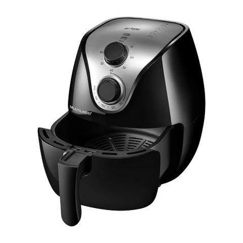 Imagem de Fritadeira Elétrica Air Fry Gourmet 4 L sem óleo Multilaser CE021