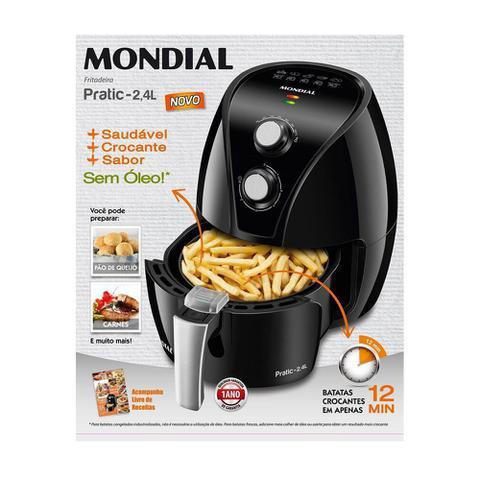 Imagem de Fritadeira Elétrica Air Fry Mondial 2.4 Litros Pratic