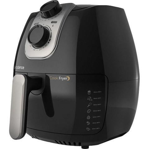 Imagem de Fritadeira Elétrica Air Fryer 2,6 Litros Cadence Cook Fryer FRT525 Preta 127V