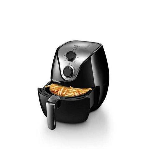 Imagem de Fritadeira Elétrica Air Fryer Gourmet 220V com 1500W 2,5L e Antiaderente Preta Multilaser - CE14