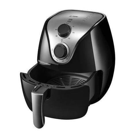 Imagem de Fritadeira Eletrica Air Fryer Multilaser Inox 1500w 220v 4l