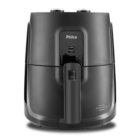 Imagem de Fritadeira Elétrica Air Fryer Philco Gourmet PFR15P Sem Óleo 1500W Preto 4L 110V
