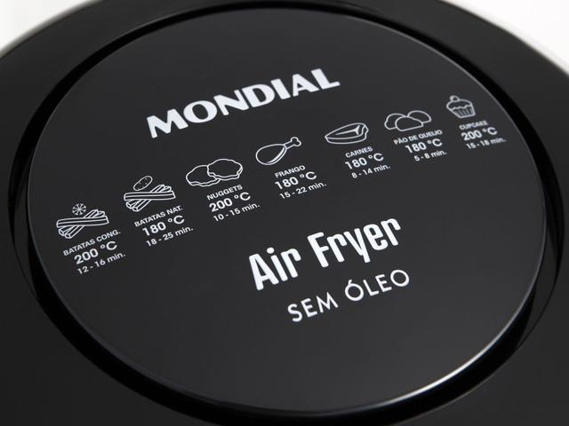 Imagem de Fritadeira Elétrica Air Fryer/Sem Óleo Mondial