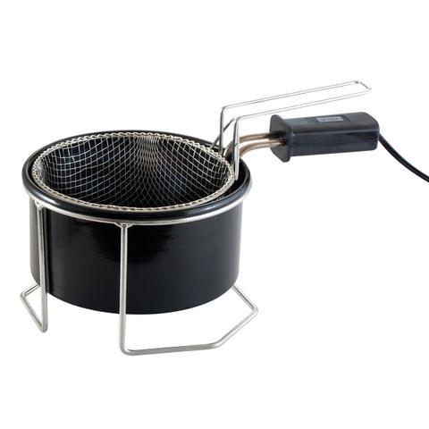 Imagem de Fritadeira Elétrica com Óleo Tacho Esmaltado 1 litro 220v