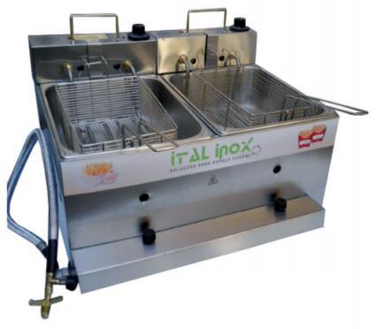 Fritadeira Ital Inox 10l Inox 110v - Feoi10
