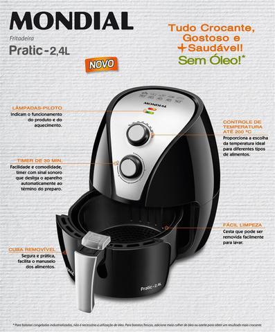 Imagem de Fritadeira Elétrica Mondial Pratic 2,4L AF-20
