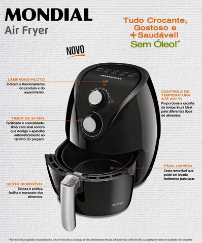 Imagem de Fritadeira Elétrica Mondial Pratic AF-15