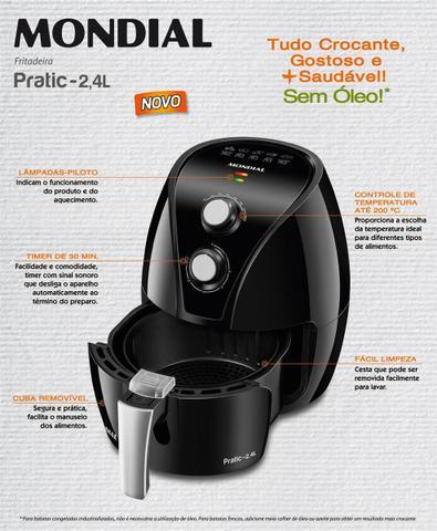 Imagem de Fritadeira Elétrica Mondial Pratic Black 2 AF-21
