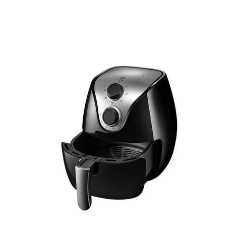 Imagem de Fritadeira Elétrica Multilaser Air Fryer Gourmet 220V 1500W Capacidade de 4 L Preta Ce022