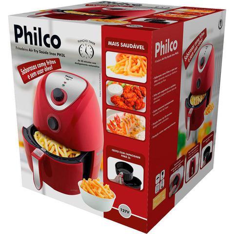 Imagem de Fritadeira Elétrica Philco Air Fry Saúde Com ou sem Óleo PH3L