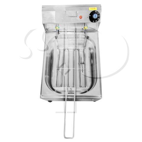 Imagem de Fritadeira Elétrica Profissional 1 Cuba 5 Litros Aço Inox 110V - 2500W ou 220V - 3000W